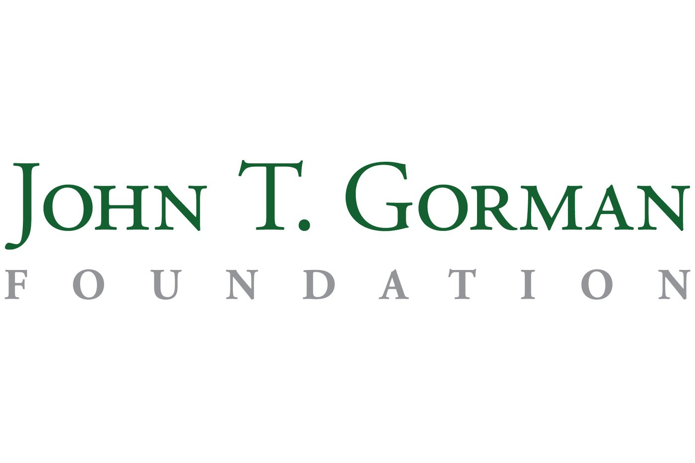 John T. Gorman Foundation logo