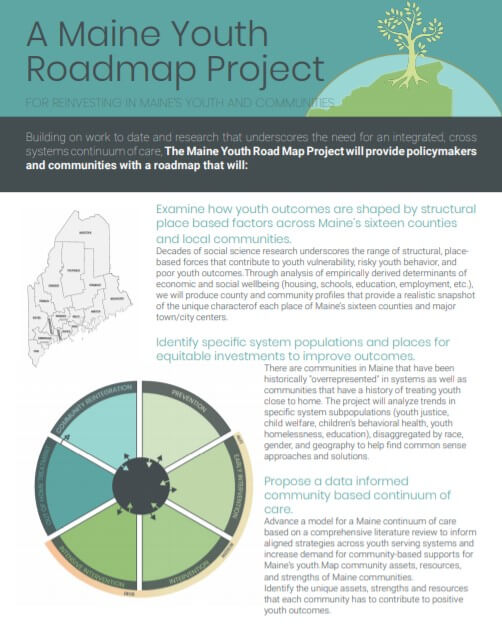 Maine Youth Road Map Project Summary